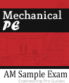 Mechanical PE Exam Sample Morning Session